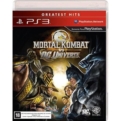 Mortal Kombat Vs. DC Universe - PS3 Seminovo