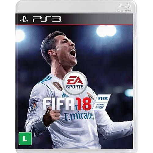 Fifa 18 - PS3 Seminovo