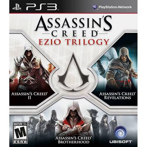 Assassins Creed: Ezio Trilogy - PS3 Seminovo