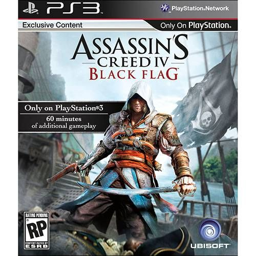 Assassin's Creed Black Flag - PS3 Seminovo
