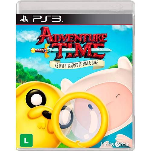 Adventure Time Investigações de Finn de Jake PS3 Seminovo
