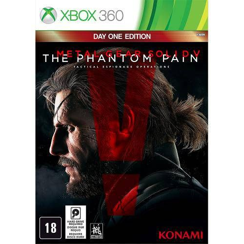 Metal Gear Solid V: The Phantom Pain - Xbox 360 Seminovo