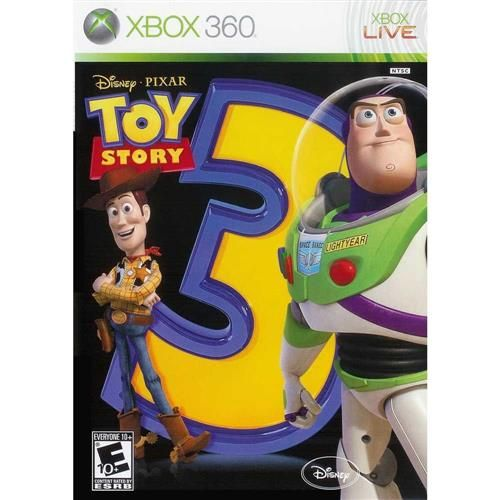 Toy Story 3 - Xbox 360 Seminovo