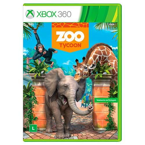 Zoo Tycoon - XBOX 360 Seminovo