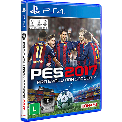 Pro Evolution Soccer 2017 - PS4 Seminovo