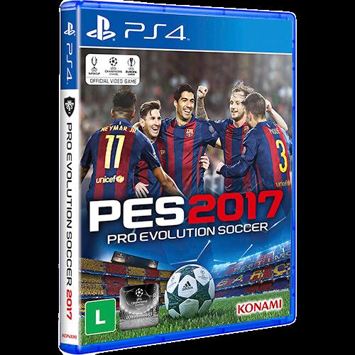 Pro Evolution Soccer 2017 - PS4 Seminovo