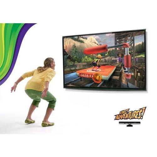 Sensor Kinect + Jogo Original Seminovo