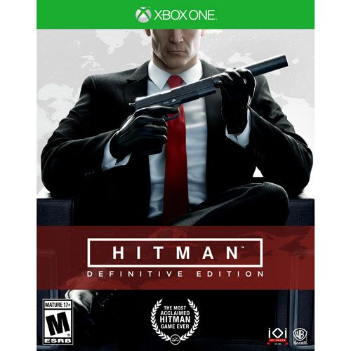 HITMAN DEFINITIVE EDITION Xbox One PRÉ-VENDA 25/07/2018