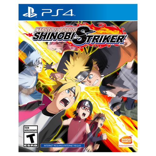 Naruto t.b Shinobi Striker PS4 Pré Venda 30/08/2018