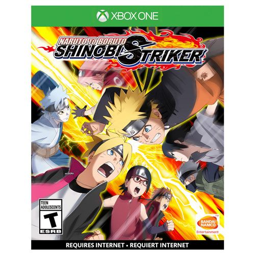 Naruto t.b Shinobi Striker Xbox One Pré Venda 30/08/2018