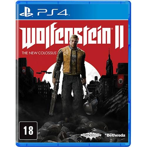 Wolfenstein II: The New Colossus - PS4 Seminovo