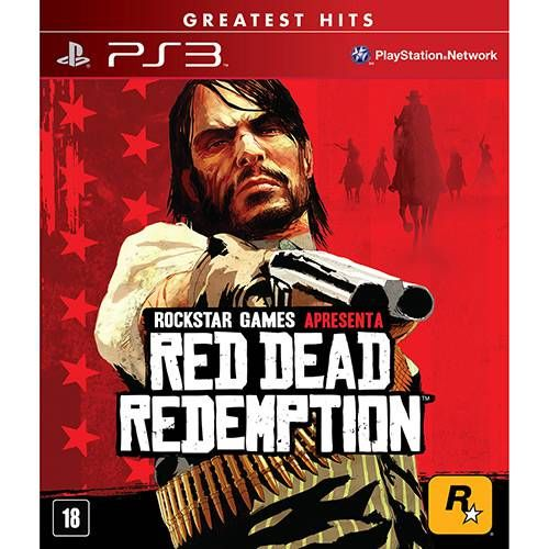 Red Dead Redemption - PS3 Seminovo