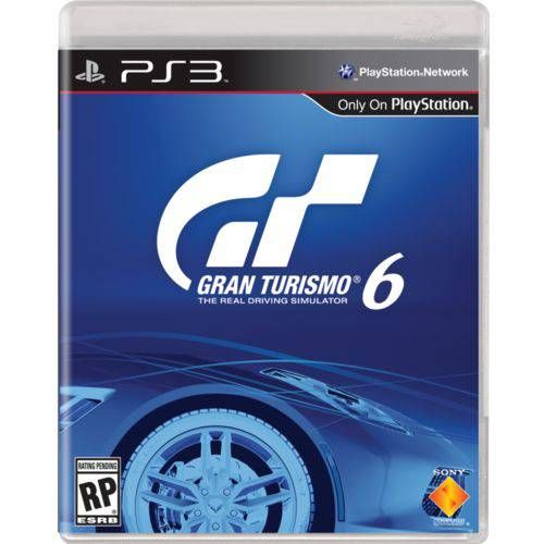 Gran Turismo 6 - PS3 Seminovo