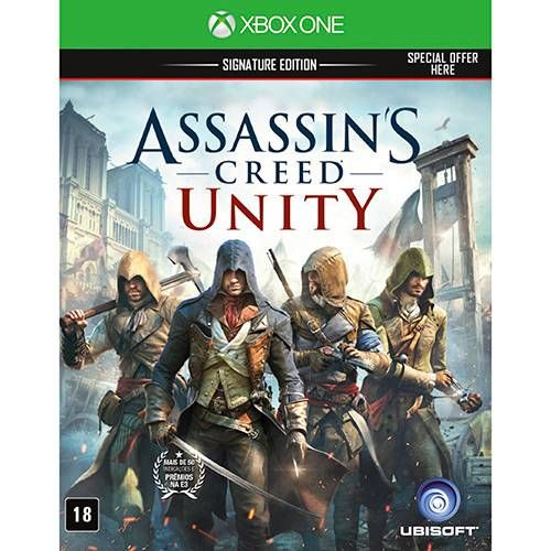 Assassin's Creed Unity - Xbox One Seminovo