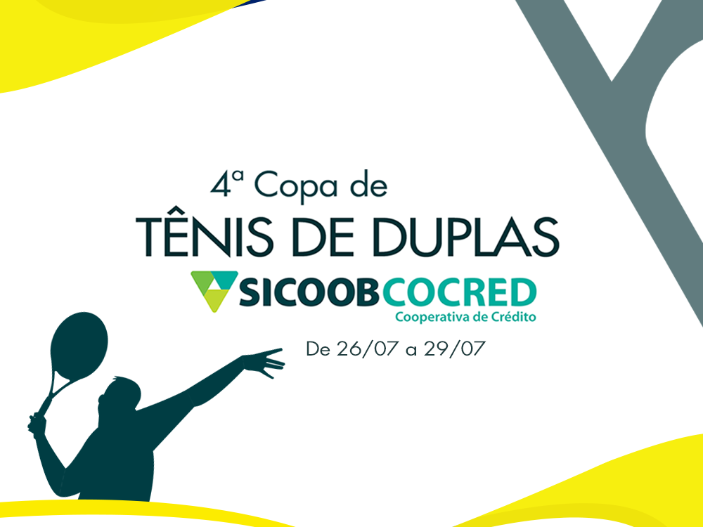 4ª Copa de Tênis de Duplas Sicoob Cocred