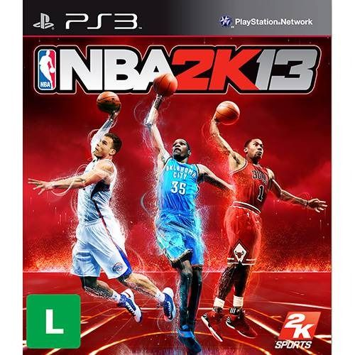 NBA 2K13 - PS3 Seminovo