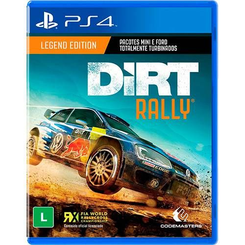 Dirt Rally - PS4 Seminovo