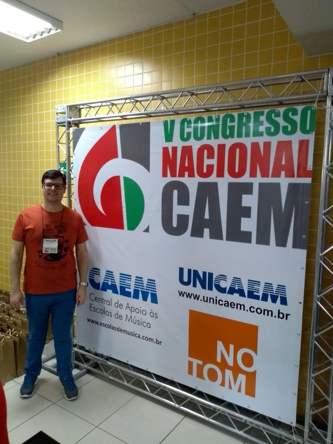 iParticipação do Diretor Gustavo Carluccio no Congresso Nacional das Escolas de Música