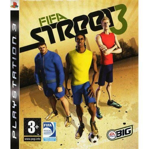Fifa Street 3 - Ps3 Seminovo