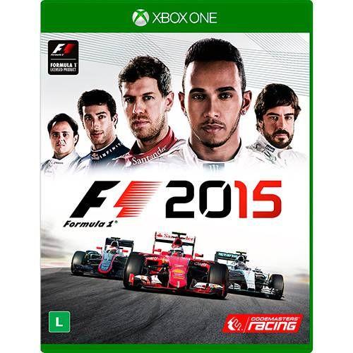 F1 2015 - Xbox One Seminovo