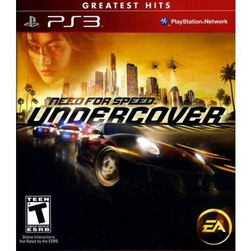 Need For Speed Undercover - Ps3 Seminovo