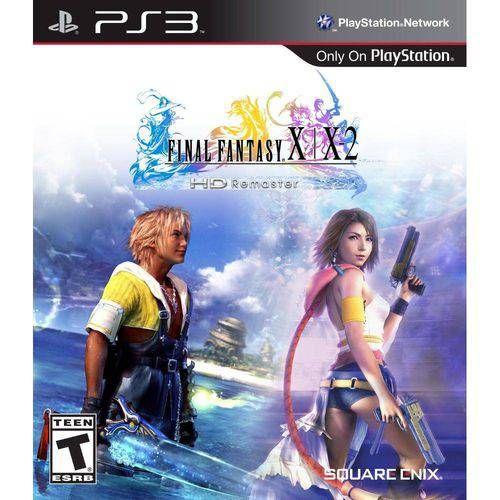 Final Fantasy X/X-2 Hd Remaster - Ps3 Seminovo