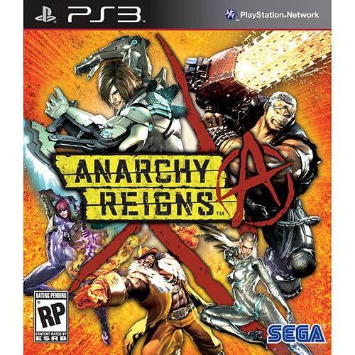 Anarchy Reigns - PS3 Seminovo