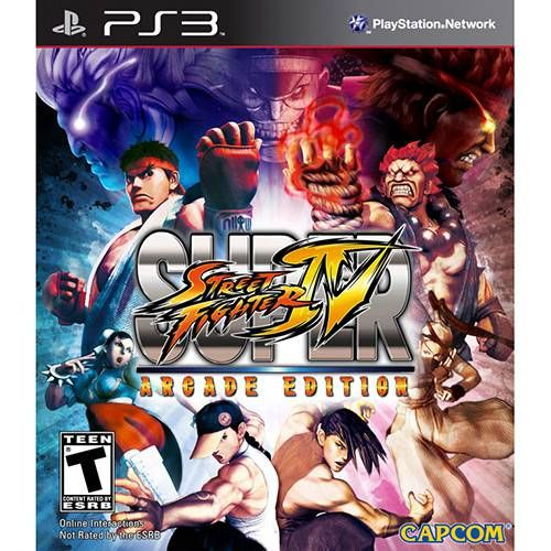 Super Street Fighter IV: Arcade Edition - PS3 Seminovo