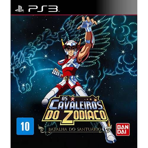 Os Cavaleiros do Zodíaco Batalha do Santuário - PS3 Seminovo