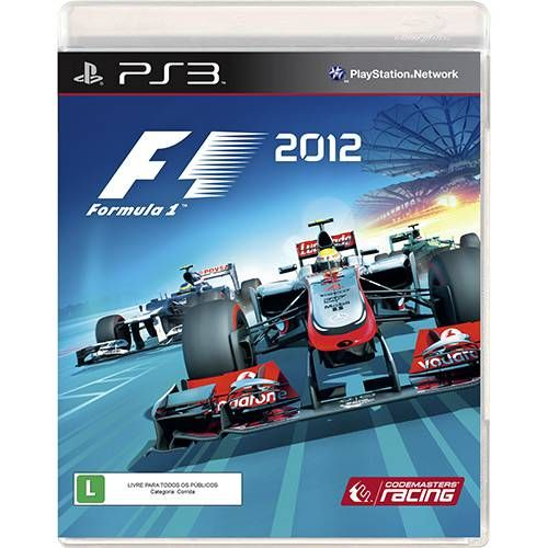 Formula 1 2012 - PS3 Seminovo