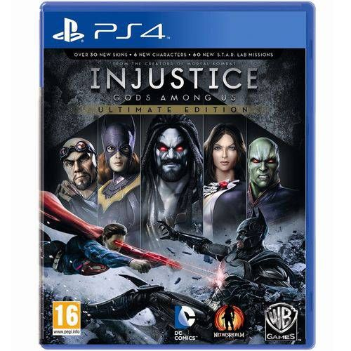 Injustice: Gods Among Us Ultimate Edition  - Ps4 Seminovo