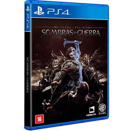 Terra Média Sombras da Guerra - PS4 Seminovo |