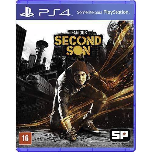 Infamous Second Son - PS4 Seminovo