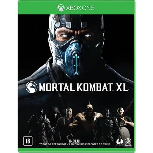 Mortal Kombat XL - Xbox One Seminovo