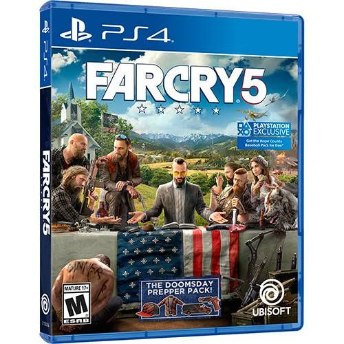 Farcry 5 - Ps4 Seminovo