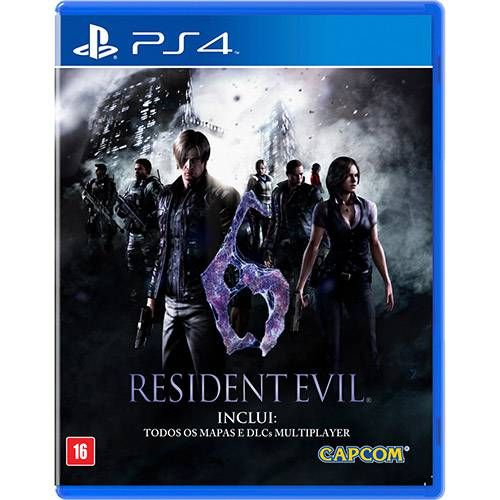 Resident Evil 6 - PS4 Seminovo