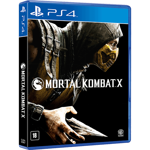 Mortal Kombat X - PS4 Seminovo