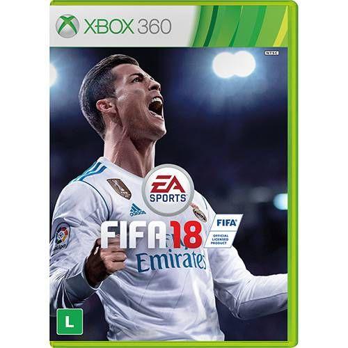 Fifa 18 - Xbox 360 Seminovo