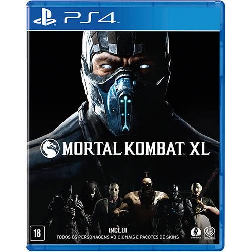 Mortal Kombat XL - PS4 Seminovo