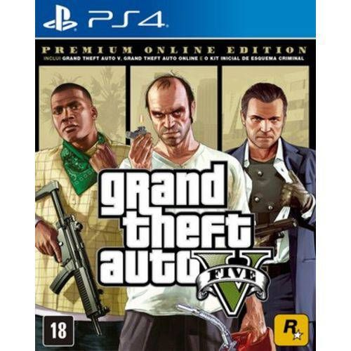 Grand Theft Auto V (GTA) - Premium Edition - PS4