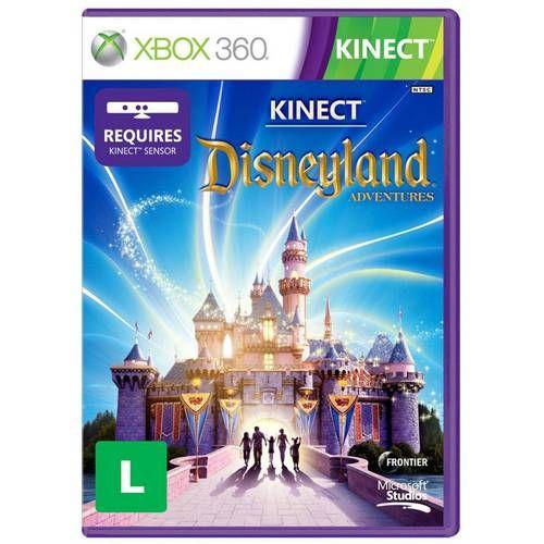 Kinect Disneyland Adventures - Xbox 360 Seminovo