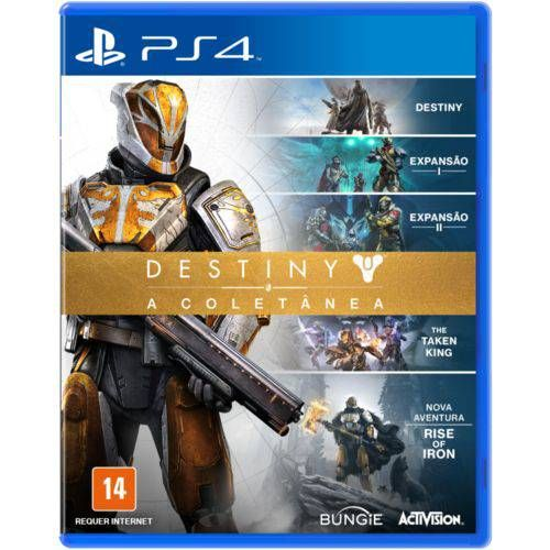 Destiny A Coletânea - PS4 Seminovo  |