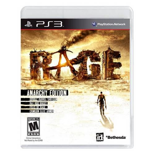 Rage Anarchy Edition - PS3 Seminovo