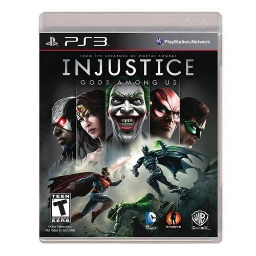 Injustice Gods Amongs - PS3 Seminovo