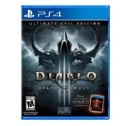 Diablo 3 Reaper Of Souls - Ultimate Evil Edition - PS4 Seminovo
