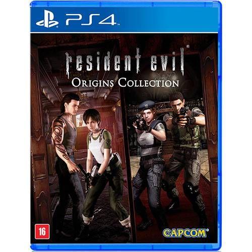 Resident Evil Origins Collection - PS4 Seminovo