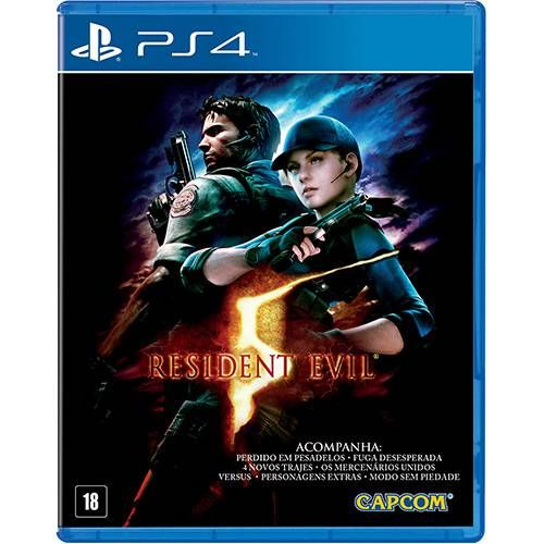 Resident Evil 5 - PS4 Seminovo