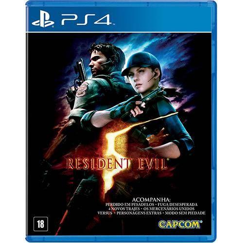 Resident Evil 5 - PS4 Seminovo