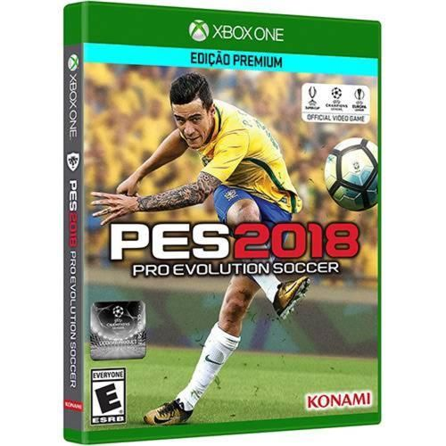 Pro Evolution Soccer 2018 - Xbox One Seminovo