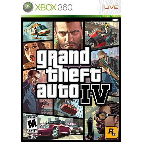 Grand Theft Auto Iv (Gta 4) - Xbox 360 Seminovo